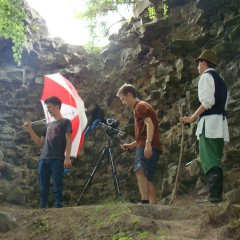 Z natáčení na Bradleci
