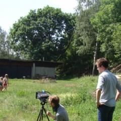Natáčení scény