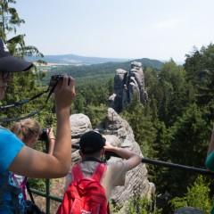Společný výlet do Prachovských skal
