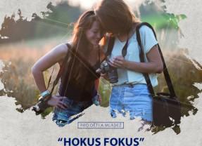Fotografická soutěž pro děti a mládež HOKUS FOKUS – letáček!