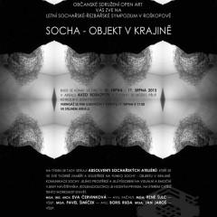Letní sochařské – řezbářské sympozium v Roškopově 2013